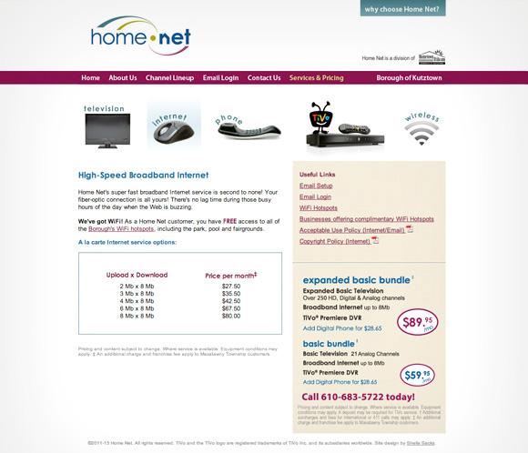 HomeNetsite_Internet